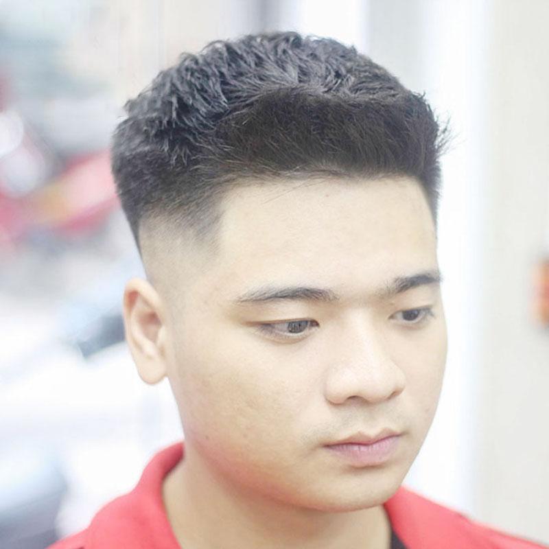 Nam mặt tròn có thể biến tấu đầy ngẫu hứng với kiểu tóc này