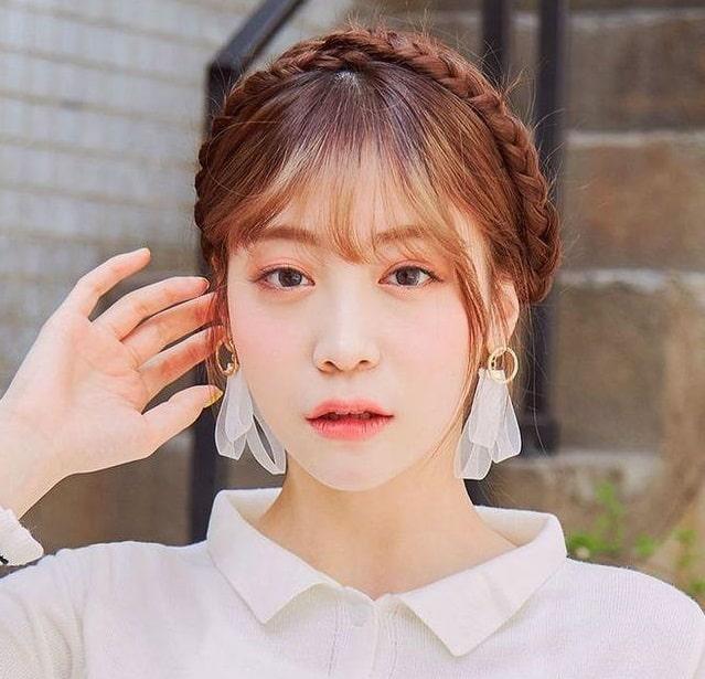 Kiểu tết tóc xinh đẹp dành cho nàng tóc ngắn