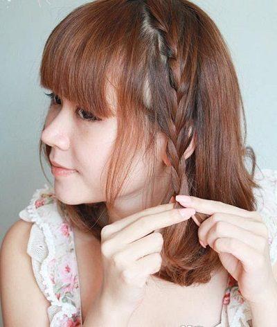 Những nàng tóc ngắn vẫn vô cùng xinh xắn với kiểu này
