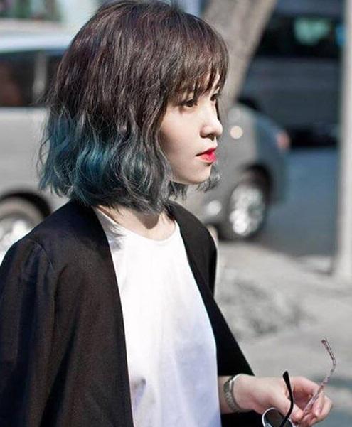 Màu tóc này giúp mái tóc ngắn của bạn càng độc đáo thu hút hơn