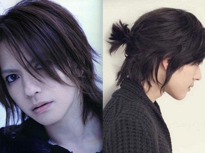 Tóc dài cho nam theo kiểu tỉa layer