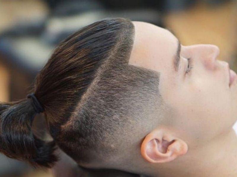 Tóc dài undercut dành cho nam giới