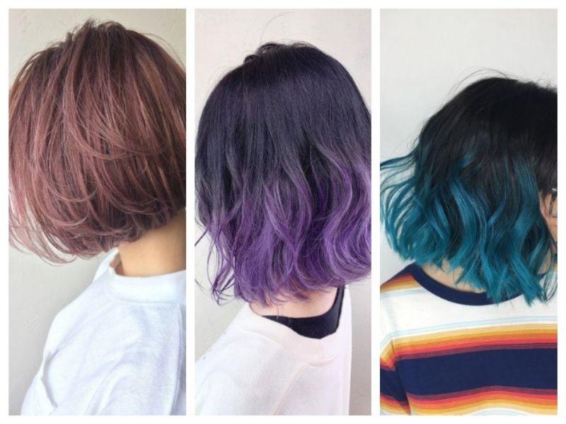 Tóc ngắn có vô vàn lựa chọn về tone màu nhuộm