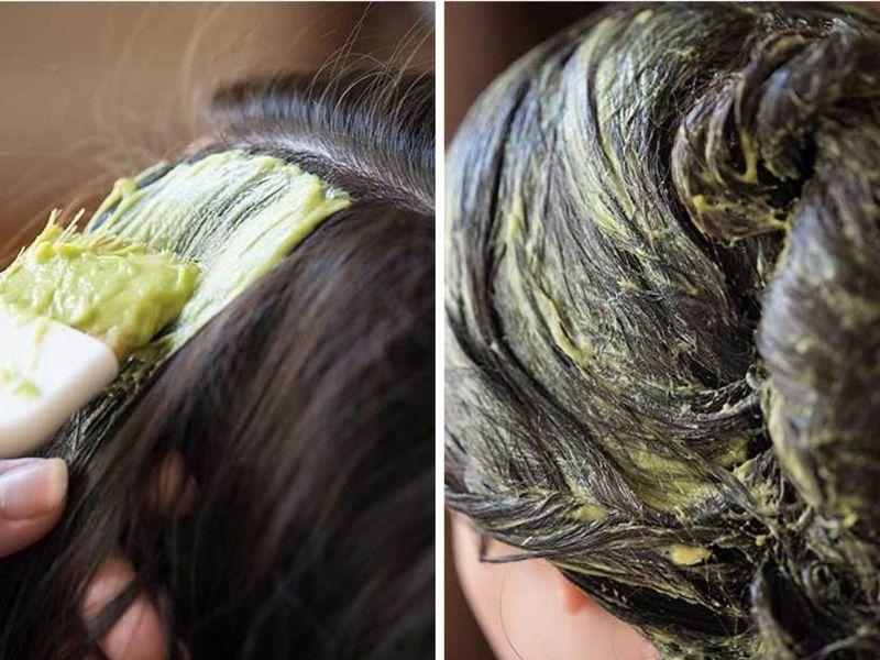 Vào thuốc thật đồng đều thì hiệu quả tẩy tóc sẽ càng cao