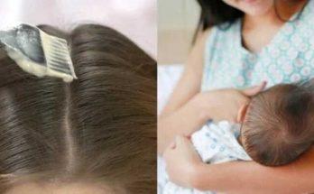 Đang cho con bú có nhuộm tóc được không?